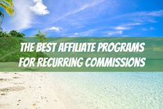 Looking to add a little passive income to your bottom line? Check out this monster list of affiliate programs that pay recurring commissions. Monster List, Rat Race, Up And Running, Work From Home Moms, Earn Money Online, Best Self, Passive Income, Way To Make Money, Extra Money