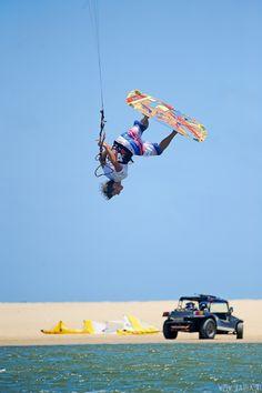 Nick Jacobsen kitesurfing @ Brazil