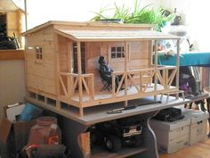 GI Joe bunk house.