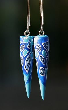 Earrings: Cell blue | Els | Flickr