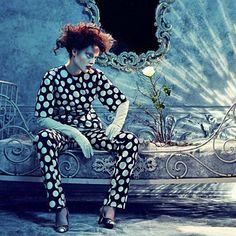 IMAGE AMPLIFIED:  AMICA MAGAZINE:LUIZE SALMGRIEZE BY SANDRINE DULERMO & MICHAEL LABICA  .. www.fashion.net