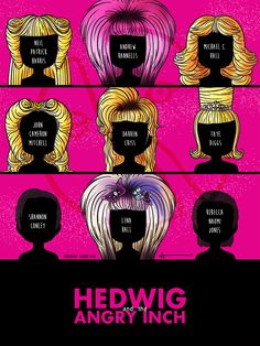 Hedwig And The Angry Inch 6 Hedwigs - 3 Yitzhaks - 500 performances. And you're shining like the brightest stars.