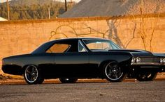 Chevrolet Chevelle SS vehicles cars auto retro classic muscle tuning hot rod wheels stance black wallpaper background