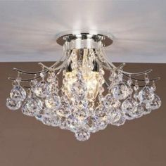 This crystal chandelier lighting can make your activity in your kitchen becomes more interesting.