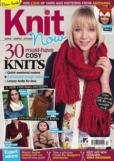 Knit Now Magazine  Knitting and craft magazine.