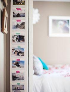 25 Stylish ways of displaying your family photos