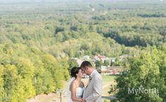 A wedding at Crystal Mountain Resort in Northern Michigan.