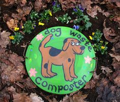 Compost Not really a craft but something to consider if you have multiple dogs. There is also a link to City Farmer's Step-By-Step photo guide to making a dog waste composter in your back yard. Dog Yard, Homemade Dog, Garden Beds, Dog Friends, Pet Dogs, Doggies, Pet Pet, Fur Babies, Your Dog
