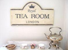 Vintage Style English Tea Shop