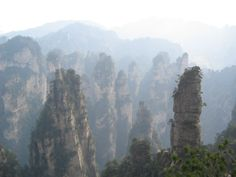 Around the Earth: corners of China - CAT IN WATER Vacation Destinations, Interior Architecture, Mount Rushmore, Corner, Earth, China, Mountains, Landscape, Water