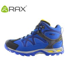 48.30$  Watch now - http://ali495.worldwells.pw/go.php?t=32713010787 - RAX Waterproof Hiking Shoes Men Warm Waterproof Hiking boots Outdoor Sport Trekking Mountain Climbing Shoes For Men Boots Winter