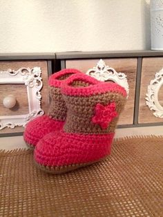 Cow Girl/Boy Boots by NannysKnotsnClocks on Etsy