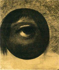 Vision, Odilon Redon, 1883