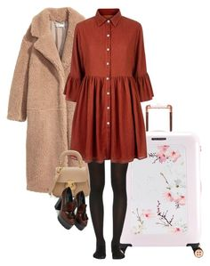 """Untitled #480"" by leehyena on Polyvore featuring Ted Baker, Wolford, Mela Loves London and Burberry"