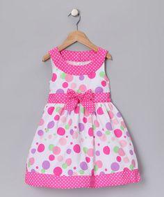 Pink Polka Dot Dress - #zulily