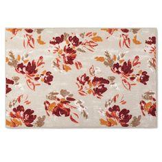 Kitchen Rug Warm Floral - Threshold™ : Target