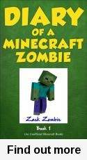 Read Zack Zombie's book Diary of a Minecraft Zombie Book A Scare of A Dare. Published on by Zack Zombie Publishing. Book Series, Book 1, Wimpy Kid Series, Minecraft Gifts, Mine Minecraft, Good Books, Books To Read, I Zombie, Funny Books For Kids