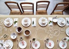 Kraft paper para la mesa | Decorar tu casa es facilisimo.com