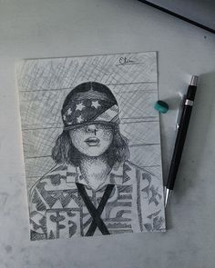 [New] The 10 Best Drawing Ideas Today (with Pictures) - Day 20 - female character from favourite series! Im sooo excited to watch stranger things Me and a friend is going to watch some episodes tonight and Im sooo hyped! Bff Drawings, Cool Art Drawings, Pencil Art Drawings, Cool Sketches, Easy Drawings, Drawing Ideas, Best Drawing, Watch Drawing, Stranger Things Characters