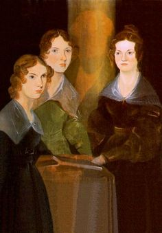 'The Brontë Sisters'  (c.1835)  -  restored and extended portrait