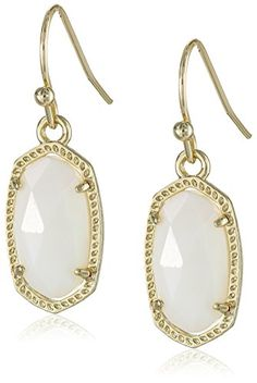 Kendra Scott Signature Lee Earrings in Gold Plated