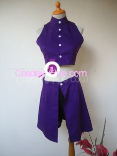 Ino Yamanaka Cosplay Costume from Naruto front by Cosplay1