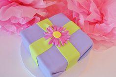 Wrapped Gift Box Custom Cake NJ