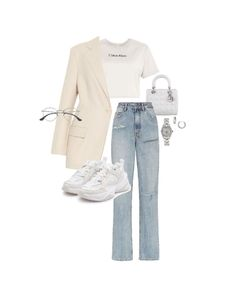 Korean Outfits, Sexy Outfits, Pretty Outfits, Stylish Outfits, Fashion Outfits, Look Fashion, Teen Fashion, Korean Fashion, Womens Fashion