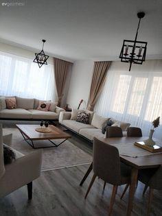 Ev Gezmesi: Şık ve Sıcacık Bir İzmir Evi Center Table, Home Accessories, Home Furniture, Living Room Decor, Sweet Home, Dining Table, House Design, Interior Design, Home Decor