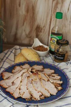 Lomo a la pimienta antigua y salsa de soja
