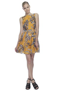 Shop Thakoon Addition Backless Flared Dress at Moda Operandi