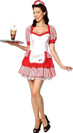 Diner Delight Costume