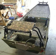Custom Boat with Camo grip flooring                                                                                                                                                                                 More