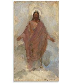 Paintings Of Christ, Jesus Christ Painting, Lds Art, Bible Art, Catholic Art, Religious Art, Jesus Artwork, Pictures Of Jesus Christ, Christian Artwork