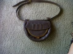 Gucci golf leather waist pouch