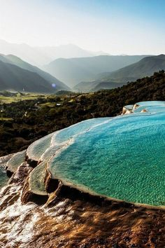 Amazing natural pools. Turkey. #nature - #beauty