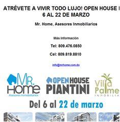 ATRÉVETE A VIVIR TODO LUJO! OPEN HOUSE DEL 6 AL 22 DE MARZO -Publicidad