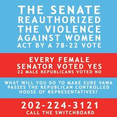FIGHT FOR VAWA!