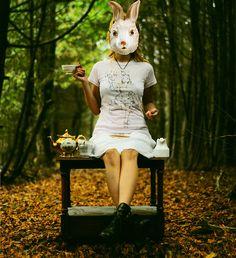 Alice In Wonderland by Lissy Elle Laricchia, via Flickr