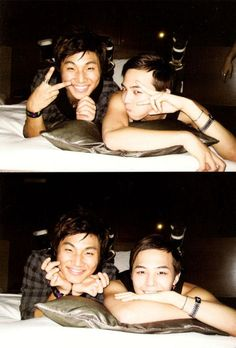 G-Dragon and Daesung ♡ omg I love this so much!!!!