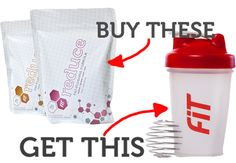 Free blender bottle when you buy Reduce.  Reduce that dietary fat naturally!!!