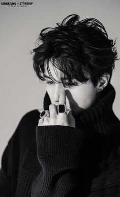 This pic is unique, mysterious and magnetic yet simple and classy just like our 🖤 Still, I think there were better… Korean Wave, Korean Star, Asian Actors, Korean Actors, Lee Dong Wook Wallpaper, Lee Dong Wok, Dramas, Goblin Korean Drama, Kdrama Actors