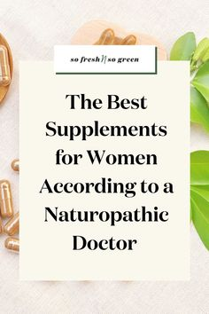 The best supplements for hormone imbalance for women according to a naturopathic doctor. In this blog post my doctor is sharing the 5 supplements she recommends for optimal health + recommended brands and what to look for when buying! #health #wellness Supplements For Women, Best Supplements, Wellness Tips, Health And Wellness, Naturopathic Physician, Vitamins For Women, Clean Diet, Hormone Imbalance, Healthy Lifestyle Tips