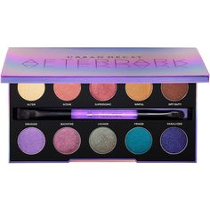 Urban Decay Afterdark Eyeshadow Palette (66 AUD) ❤ liked on Polyvore featuring beauty products, makeup, eye makeup, eyeshadow, eye shadow, eyes, urban decay, urban decay eyeshadow, urban decay eye makeup and palette eyeshadow