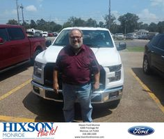 https://flic.kr/p/HFWsAP | Happy Anniversary to Wendel on your #Ford #F-150 from Scott Turner at Hixson Ford of Monroe! | deliverymaxx.com/DealerReviews.aspx?DealerCode=M553