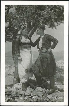 Cretan paysans Costume