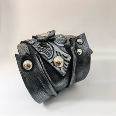 Friday night out with this ooak bracelet? Night Out, Coin Purse, Friday, Brooch, Wallet, Purses, Bracelets, Leather, Jewelry