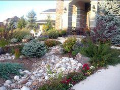 Texas Xeriscape Landscaping front yard   Rocky Landscape « S J Ward Landscapes LLC