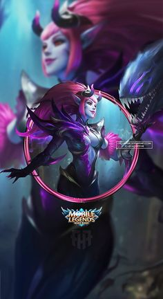 Wallpaper Phone Selena Abyssal Witch by FachriFHR