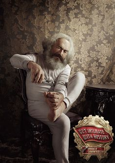 At home with Karl Marx at the Museum of Communism in Prague. | The Smartest, Funniest, Most Informative Museum Ads